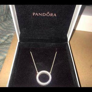 Pandora Circle Necklace